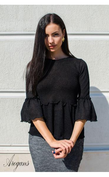 Кокетна блузка от плетиво Cherry_15792