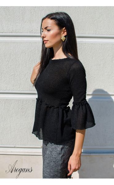 Кокетна блузка от плетиво Cherry_15793