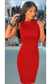 Огнено червена рокля Мартина