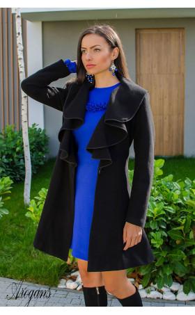Кокетно палто от кашмир с богата яка Glory