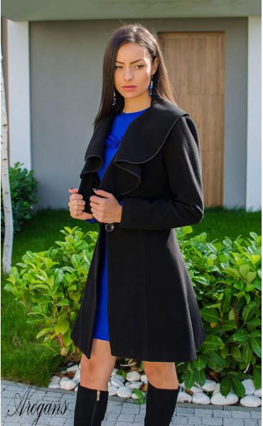 Кокетно палто от кашмир с богата яка Glory_15866