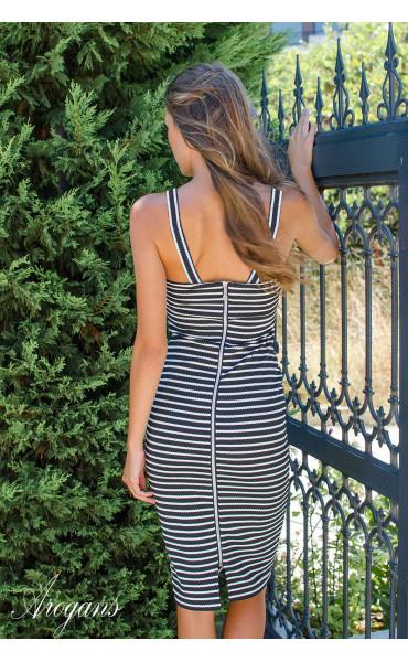 Рокля Stripes_16272