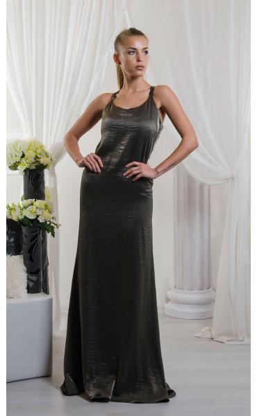 Дълга рокля Bronze Lady_16616
