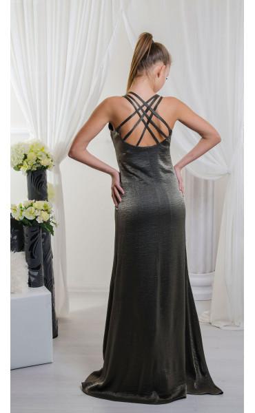 Дълга рокля Bronze Lady_16617