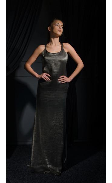 Дълга рокля Bronze Lady_16620