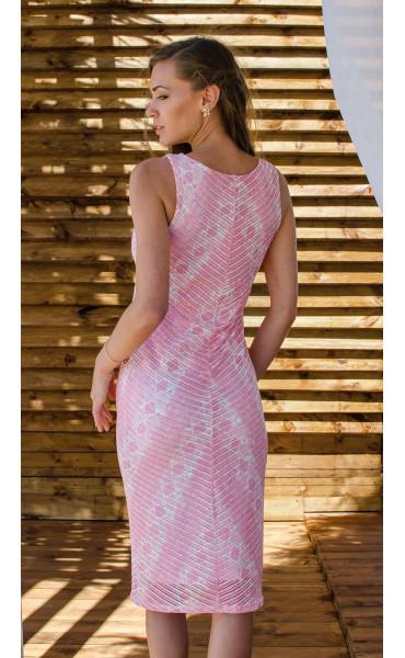 Нежна рокля Pink coral_16636