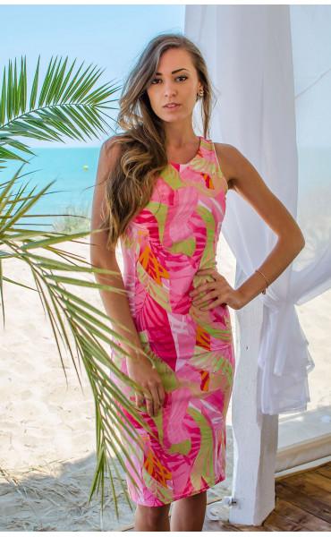 Лятна рокля с втален силует Fresh summer_16642