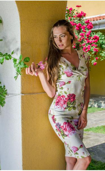 Елегантна рокля Toskana_16678