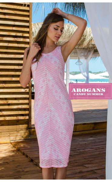 Нежна рокля Pink coral_16679