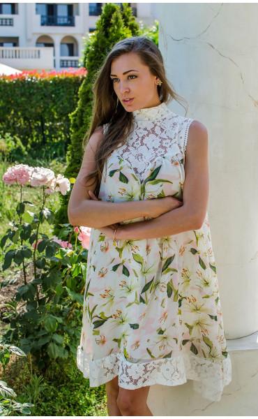 Свободна нежна рокля Lilium _16688
