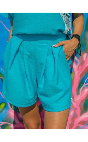 Къси панталонки Turquoise