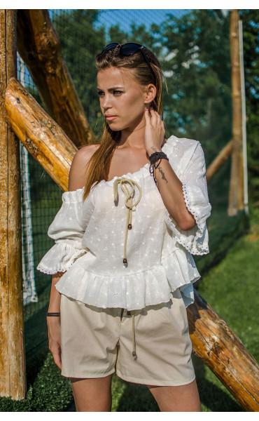 Лятна блузка от памук Кристи_16757