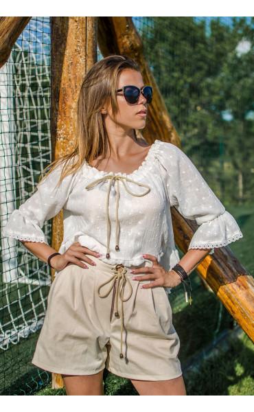 Лятна блузка от памук Кристи_16759