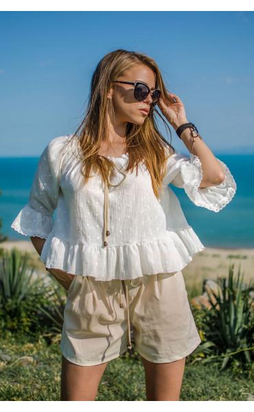 Лятна блузка от памук Кристи_16760