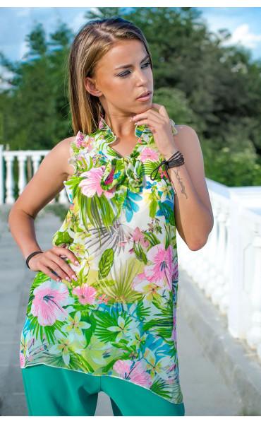 Туника Tropical flowers_16765