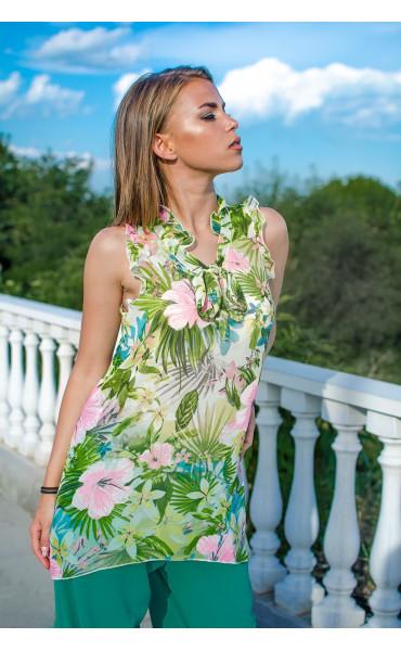 Туника Tropical flowers_16766