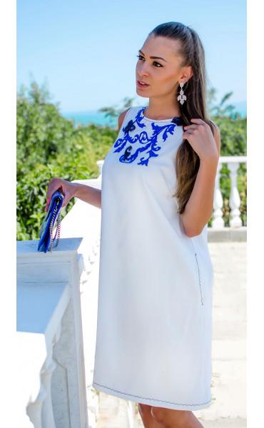 Изискана бяла рокля Olimpia_16804