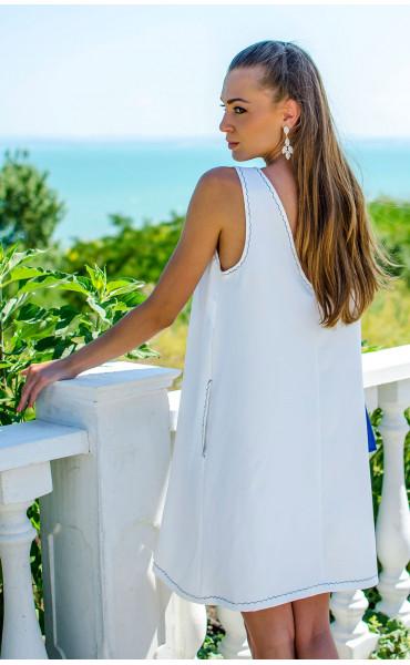 Изискана бяла рокля Olimpia_16808
