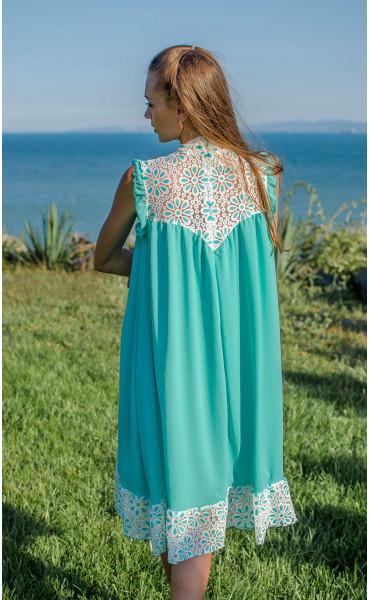 Свободна  кокетна рокля Mint_16846
