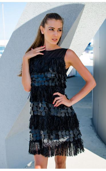 Парти рокля Pantera Negra_16852