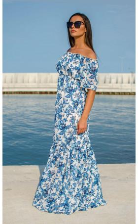 Ефирна дълга лятна рокля Mykonos