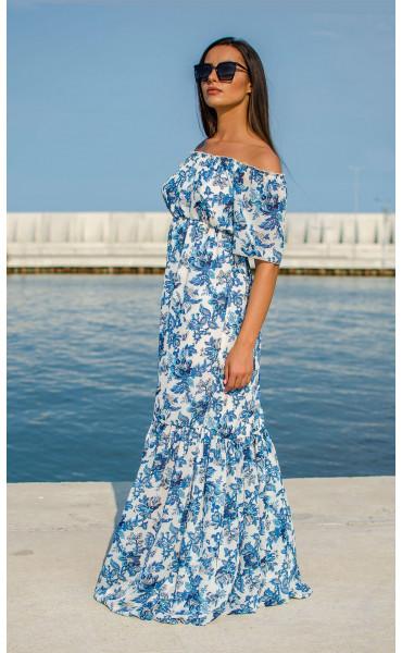 Лятна ефирна рокля Mykonos_16864