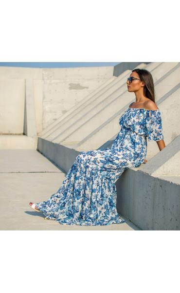 Лятна ефирна рокля Mykonos_16866