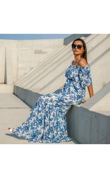 Лятна ефирна рокля Mykonos_16867