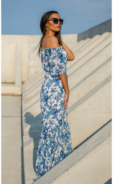 Лятна ефирна рокля Mykonos_16869