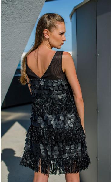 Парти рокля Pantera Negra_16876
