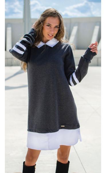 Кокетна свободна рокля Missy_17085