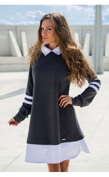 Кокетна свободна рокля Missy_17086