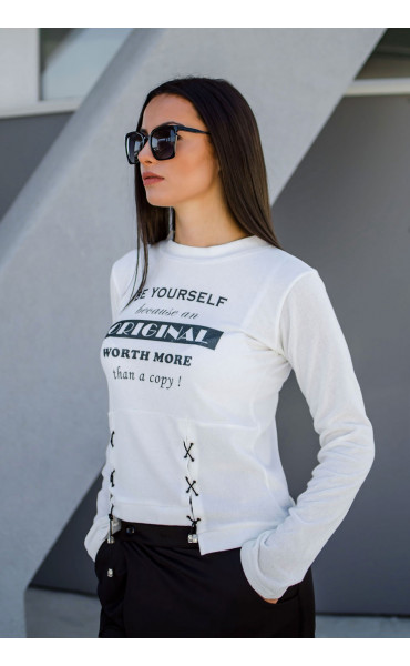 Блуза от плетиво Be yourself_17239