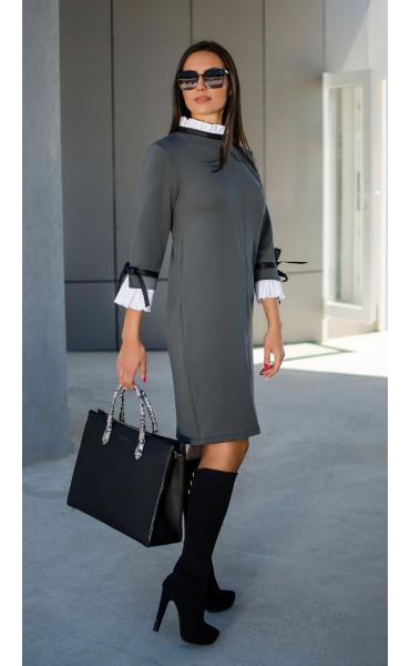 Елегантна делова рокля Accent_17294