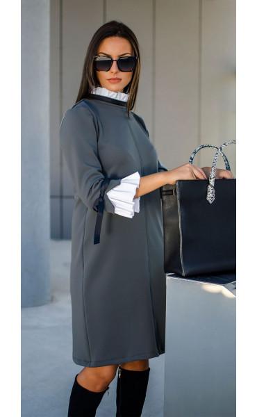 Елегантна делова рокля Accent_17296