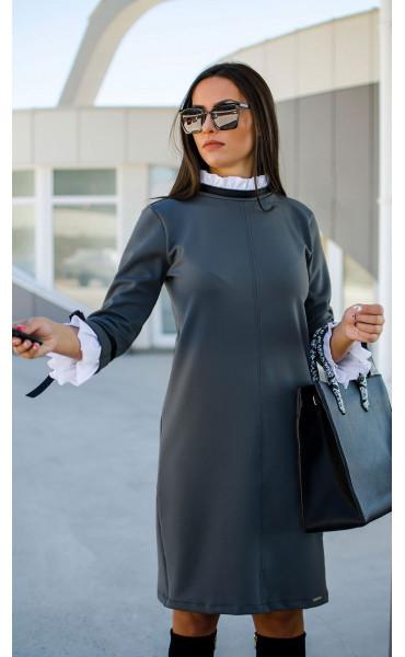 Елегантна делова рокля Accent_17297