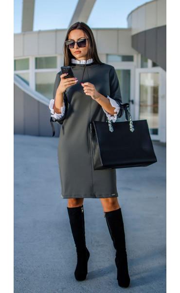 Елегантна делова рокля Accent_17298