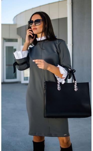 Елегантна делова рокля Accent_17299