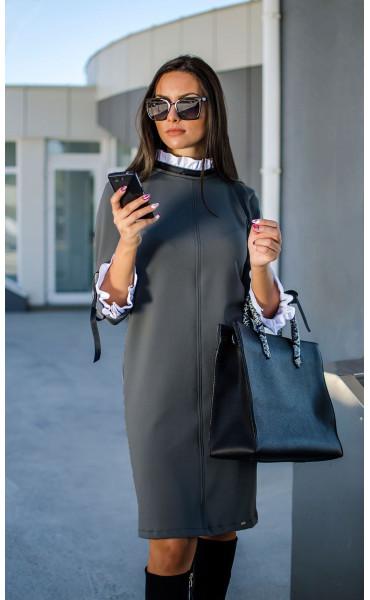 Елегантна делова рокля Accent_17300