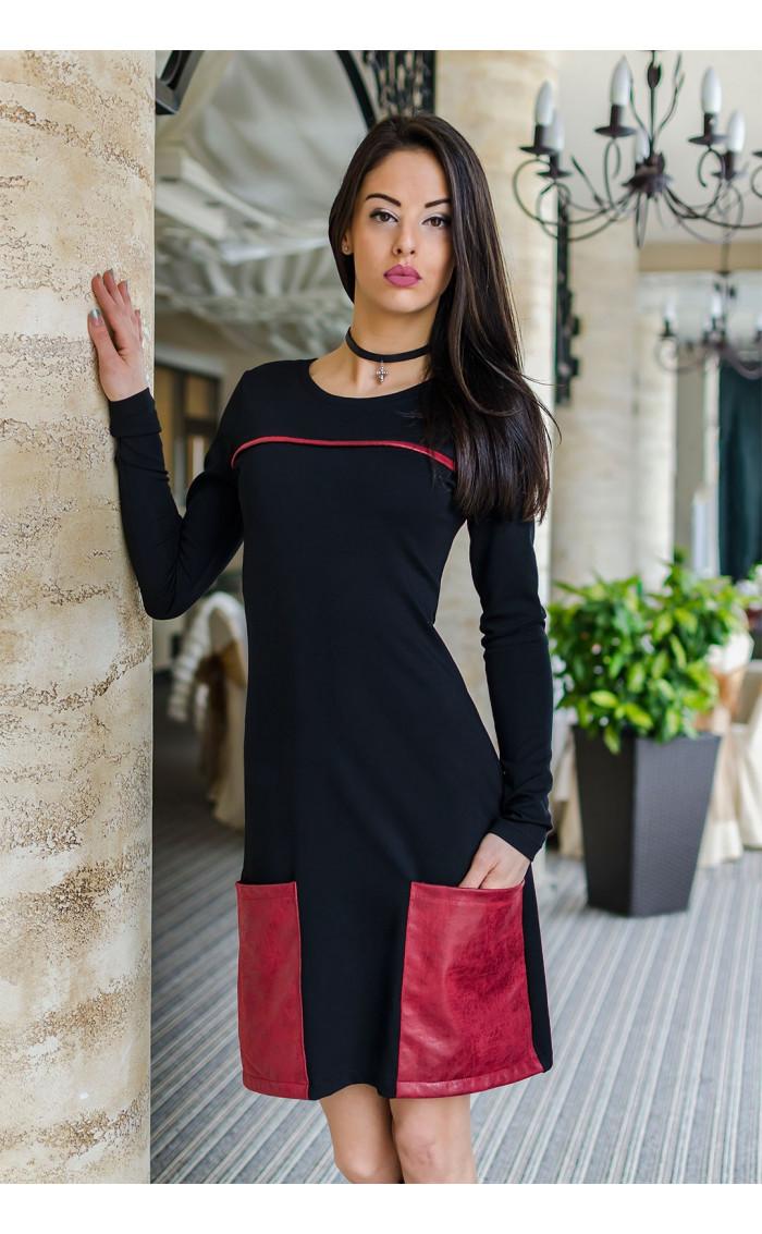 Модерна и удобна ежедневна рокля Мари