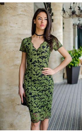 Дантелена рокля Emerald