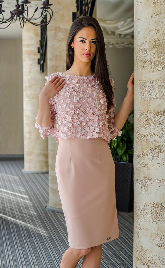 Комплект рокля с болеро