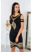 Елегантна рокля Gold