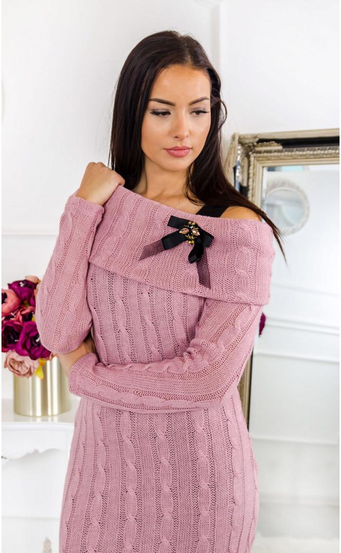 Туника от плетиво с декоративни елементи