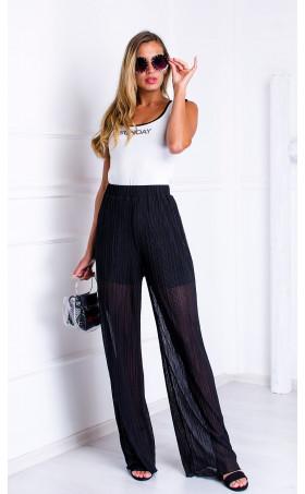 Елегантен панталон фризе Black cat