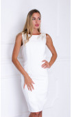 Нежна бяла рокля Bella white