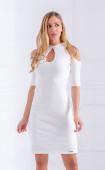 Нежна рокля с отворени части Vanilla