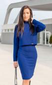 Ежедневен елегантен комплект  Blue elegance