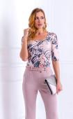 Блуза в нежни цветове Tropical
