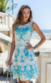 Лятна рокля Blue island
